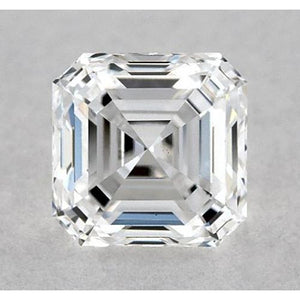0.50 Carats Asscher Diamond Loose I VS1 Very Good Cut Diamond