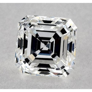 0.50 Carats Asscher Diamond Loose I VS2 Good Cut Diamond