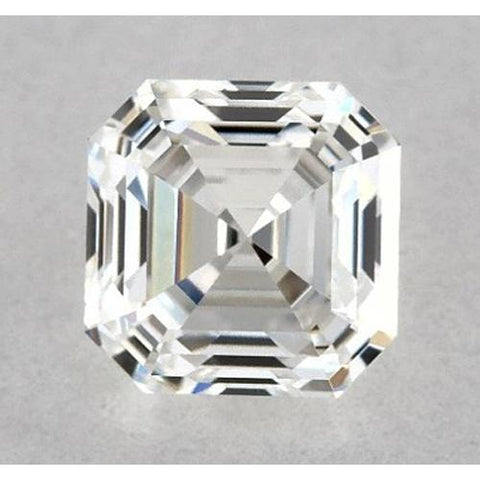 0.50 Carats Asscher Diamond Loose I VVS2 Very Good Cut Diamond