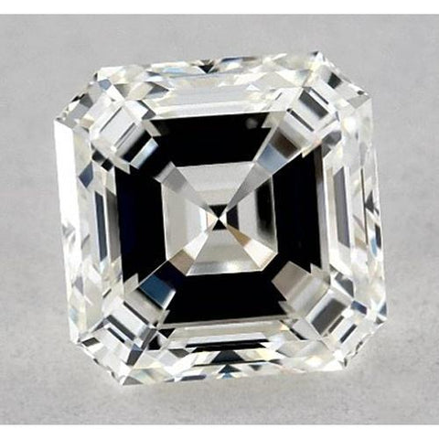 0.50 Carats Asscher Diamond Loose K VS1 Very Good Cut Diamond