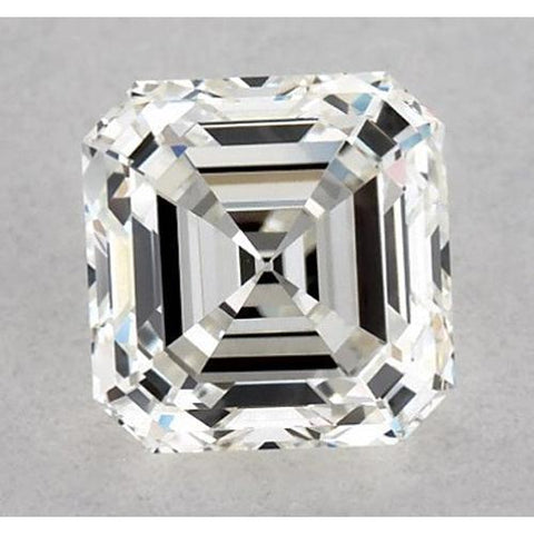 0.50 Carats Asscher Diamond Loose K VS2 Good Cut Diamond