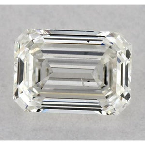 0.50 Carats Emerald Diamond Loose H Vvs1 Very Good Cut Diamond