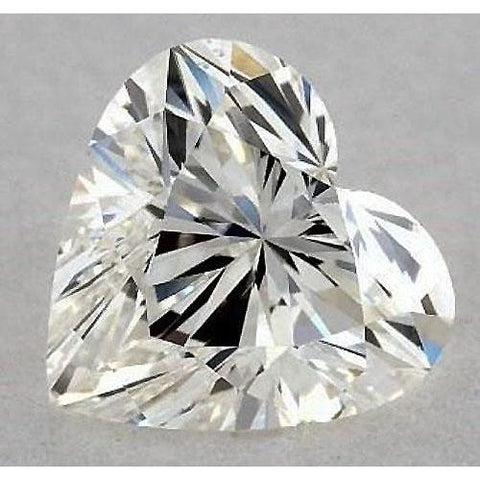 0.50 Carats Heart Diamond Loose D Vs1 Very Good Cut Diamond
