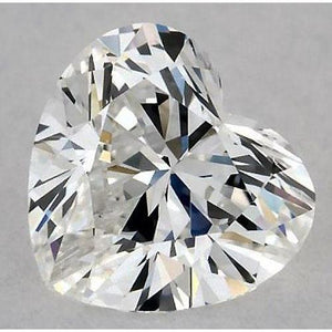 0.50 Carats Heart Diamond Loose D Vs2 Very Good Cut Diamond