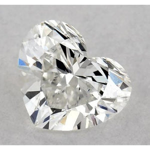 0.50 Carats Heart Diamond Loose D Vvs1 Very Good Cut Diamond