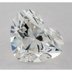0.50 Carats Heart Diamond Loose F Vvs1 Very Good Cut Diamond
