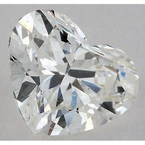 0.50 Carats Heart Diamond Loose G Vs2 Very Good Cut Diamond