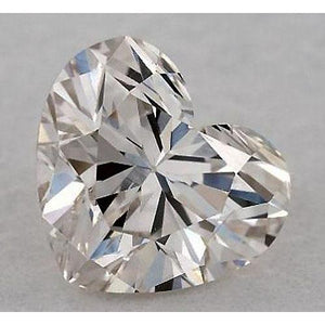 0.50 Carats Heart Diamond Loose H Vvs1 Very Good Cut Diamond