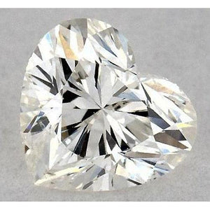 0.50 Carats Heart Diamond Loose I Vs2 Very Good Cut Diamond