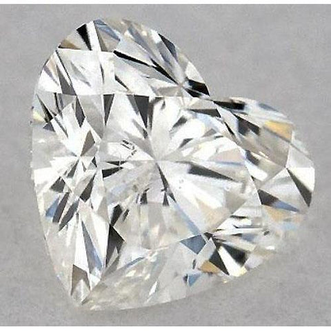 0.50 Carats Heart Diamond Loose J Vs2 Very Good Cut Diamond