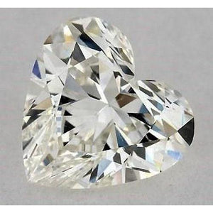 0.50 Carats Heart Diamond Loose K Vs1 Very Good Cut Diamond