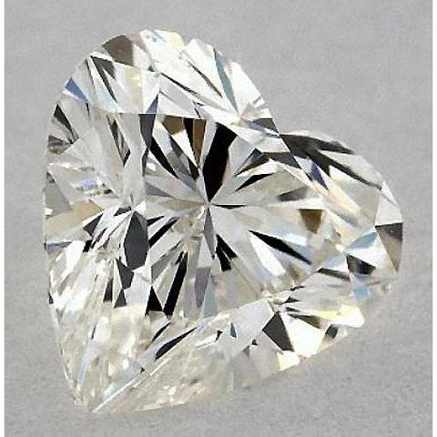 0.50 Carats Heart Diamond Loose K Vs2 Very Good Cut Diamond