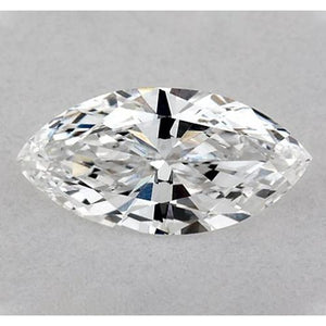 0.50 Carats Marquise Diamond Loose H Vs2 Very Good Cut Diamond