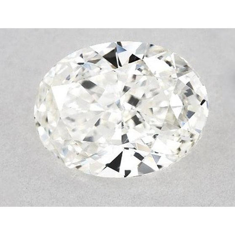 0.50 Carats Oval Diamond Loose D Vvs2 Very Good Cut Diamond
