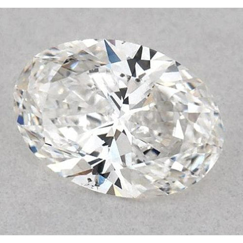 0.50 Carats Oval Diamond Loose E Vs2 Very Good Cut Diamond