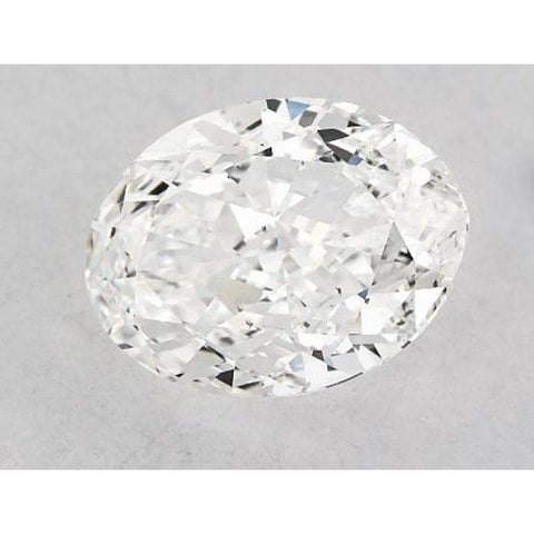 0.50 Carats Oval Diamond Loose E Vvs1 Very Good Cut Diamond