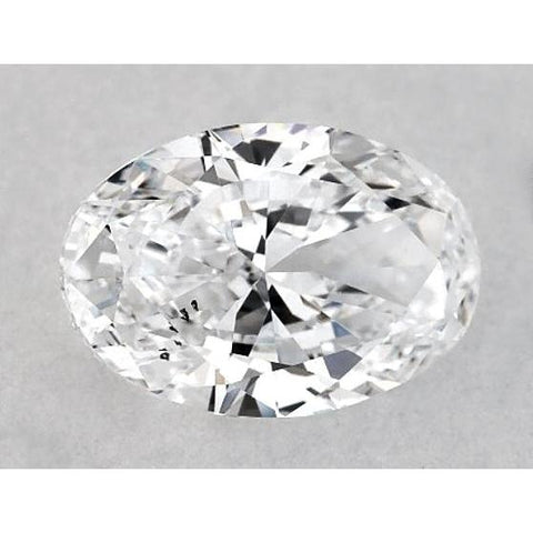 0.50 Carats Oval Diamond Loose F Vs2 Very Good Cut Diamond