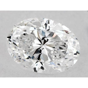 0.50 Carats Oval Diamond Loose G Vs2 Very Good Cut Diamond