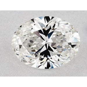 0.50 Carats Oval Diamond Loose H Vs2 Very Good Cut Diamond
