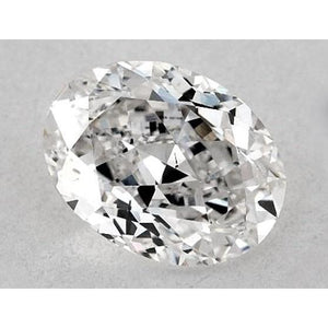 0.50 Carats Oval Diamond Loose I Vs2 Very Good Cut Diamond