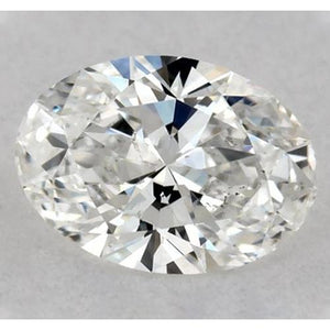 0.50 Carats Oval Diamond Loose J Vs2 Very Good Cut Diamond