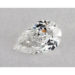 0.50 Carats Pear Diamond Loose D Vs1 Very Good Cut Diamond