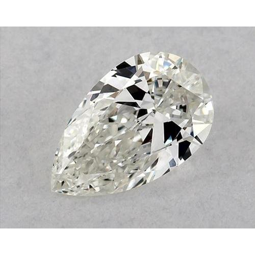 0.50 Carats Pear Diamond Loose D Vvs1 Very Good Cut Diamond