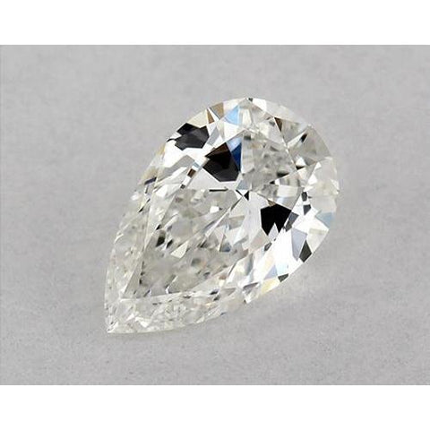 0.50 Carats Pear Diamond Loose E Vs1 Very Good Cut Diamond