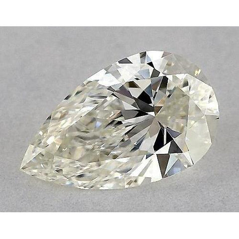 0.50 Carats Pear Diamond Loose F Vs2 Very Good Cut Diamond