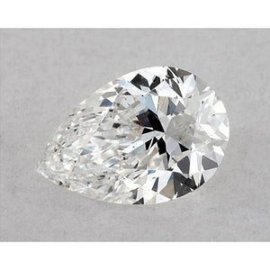 0.50 Carats Pear Diamond Loose F Vvs1 Very Good Cut Diamond