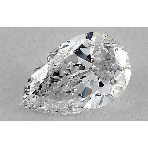 0.50 Carats Pear Diamond Loose G Vs2 Very Good Cut Diamond