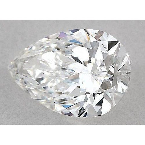0.50 Carats Pear Diamond Loose G Vvs1 Very Good Cut Diamond