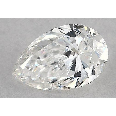0.50 Carats Pear Diamond Loose H Vs2 Very Good Cut Diamond