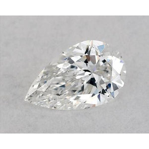 0.50 Carats Pear Diamond Loose H Vvs1 Very Good Cut Diamond