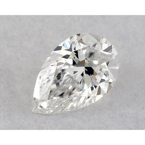 0.50 Carats Pear Diamond Loose H Vvs2 Very Good Cut Diamond