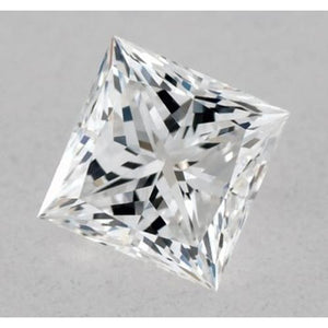 0.50 Carats Princess Diamond Loose D Vvs1 Excellent Cut Diamond