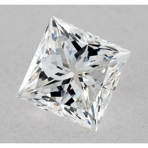 0.50 Carats Princess Diamond Loose F Vvs1 Excellent Cut Diamond