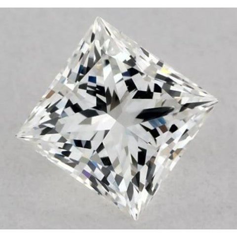 0.50 Carats Princess Diamond Loose G Vvs1 Excellent Cut Diamond