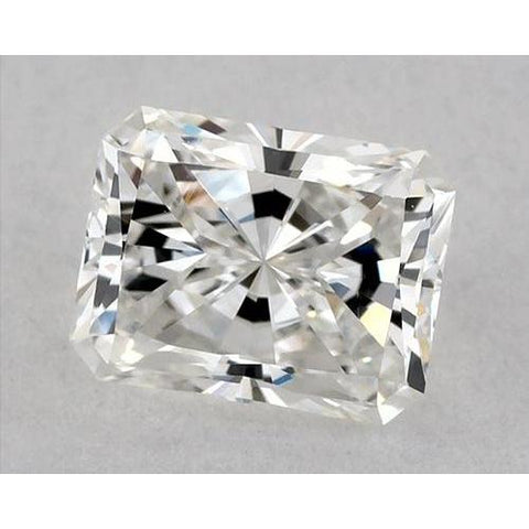 0.50 Carats Radiant Diamond Loose D Vvs1 Very Good Cut Diamond