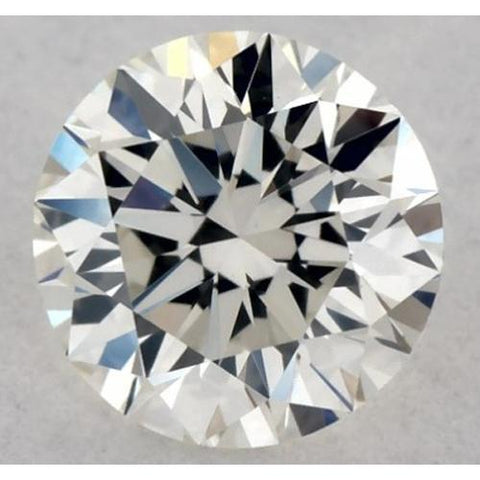 0.50 Carats Round Diamond E Vvs1 Excellent Cut Loose Diamond