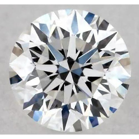0.50 Carats Round Diamond F Vvs1 Excellent Cut Loose Diamond