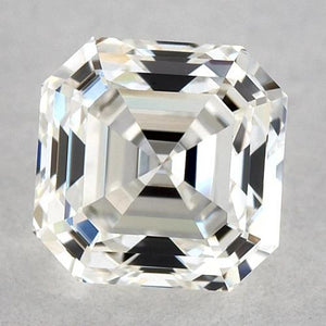 0.75 Carats Asscher Diamond Loose D Fl Very Good Cut Diamond
