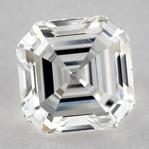 0.75 Carats Asscher Diamond Loose D Vvs1 Very Good Cut Diamond