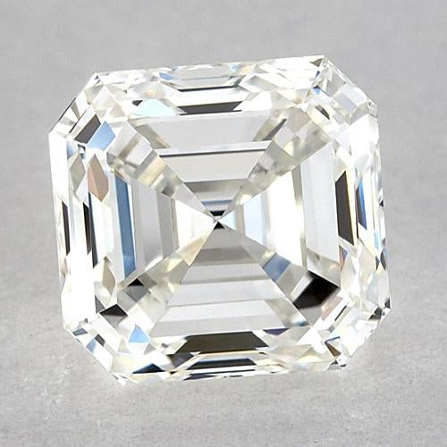 0.75 Carats Asscher Diamond Loose D Vvs2 Very Good Cut Diamond