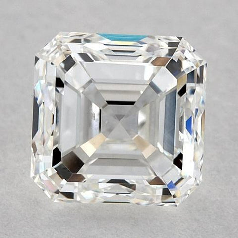 0.75 Carats Asscher Diamond Loose E Fl Very Good Cut Diamond