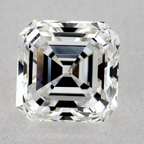 0.75 Carats Asscher Diamond Loose E Vvs1 Very Good Cut Diamond