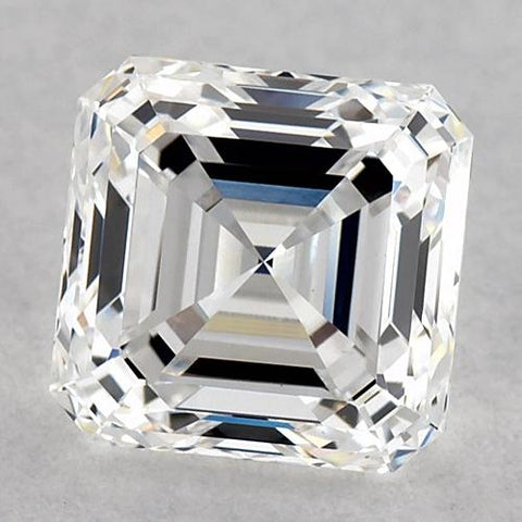 0.75 Carats Asscher Diamond Loose F Vvs1 Very Good Cut Diamond