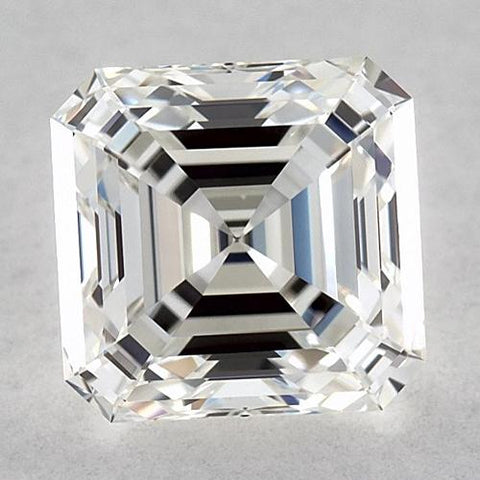 0.75 Carats Asscher Diamond Loose G Fl Very Good Cut Diamond