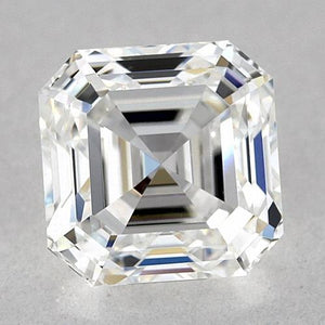 0.75 Carats Asscher Diamond Loose G Vvs1 Very Good Cut Diamond