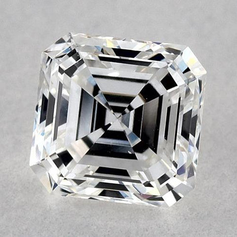 0.75 Carats Asscher Diamond Loose H Vvs1 Very Good Cut Diamond